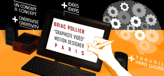 Briac Pollier : freelance 2D motion graphic artist